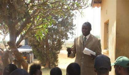 PF cadre Chibuye addresses party cadres