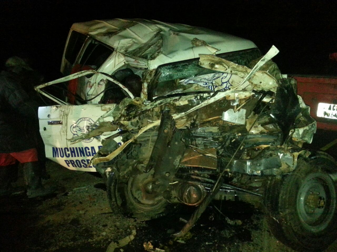 8 people dead in the Kapiri accident, as driver bolts