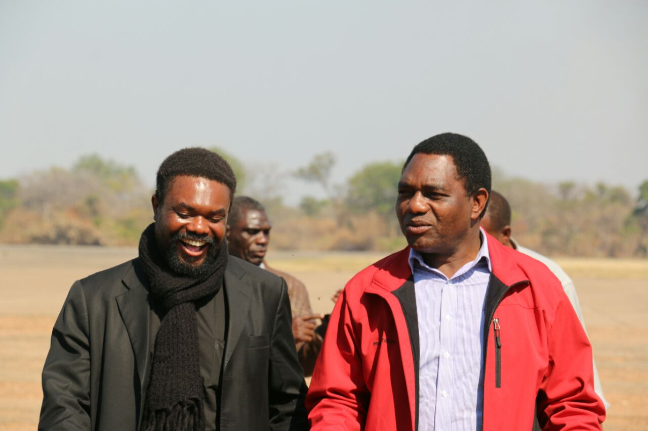 Photos of the day: HH  & Dr Banda head to Lundazi