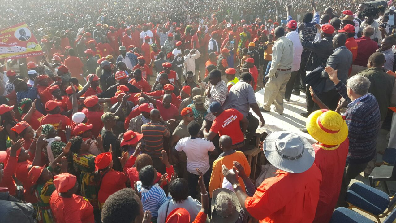 UPND hold extra mega rally in Kabwe
