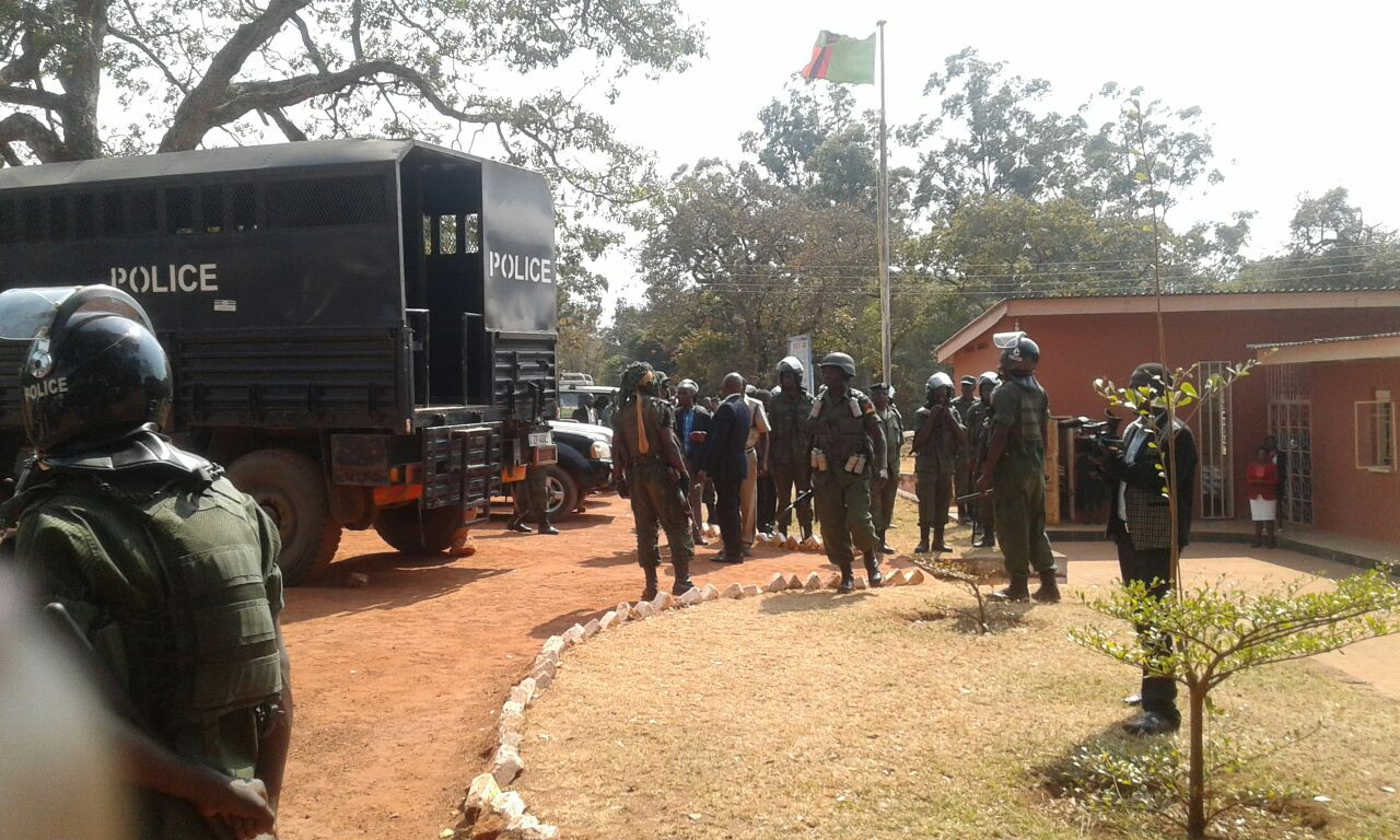 UPND supporters taken to court on false charges