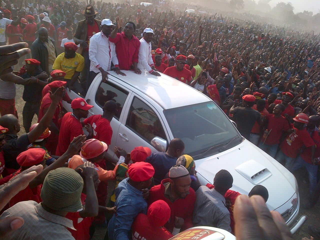 HH concludes tour of Northwest with mega rally in Solwezi