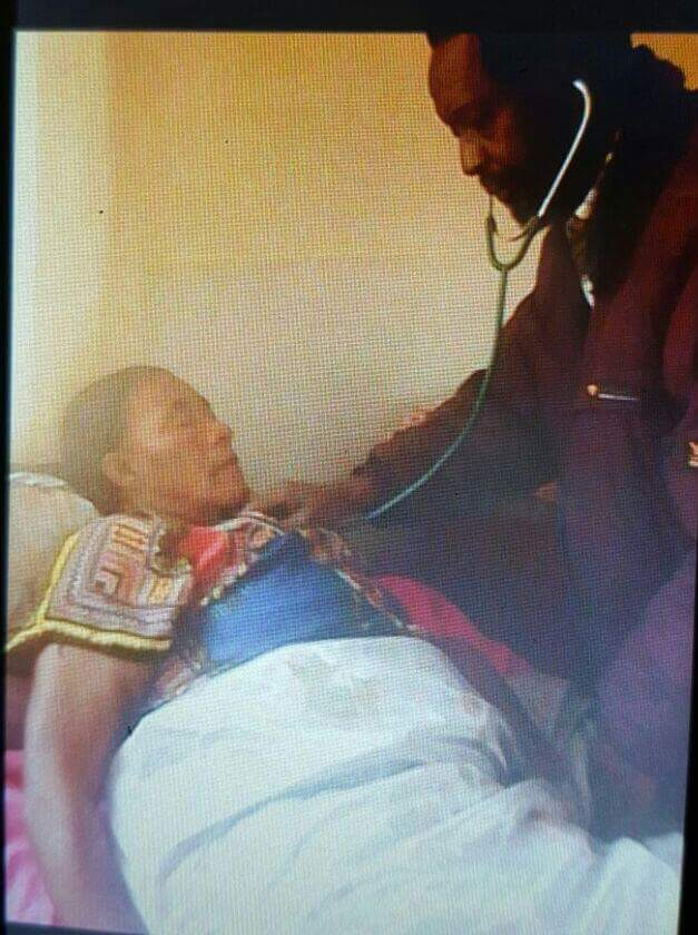 Photo of the day: GBM' sister still hospitalised