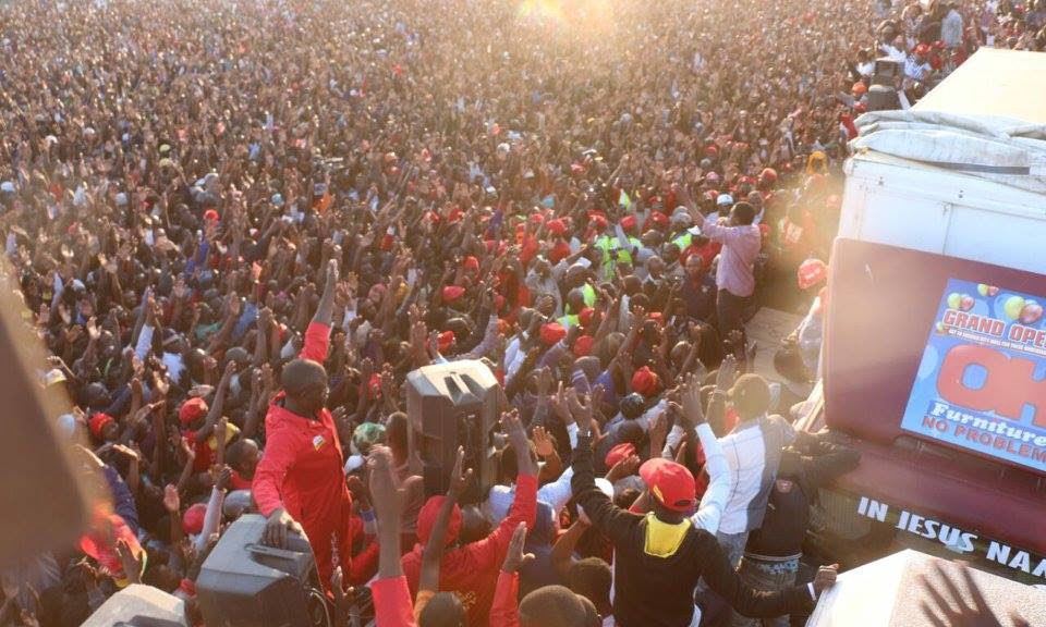 UPND happy with Kanyama rally turnout