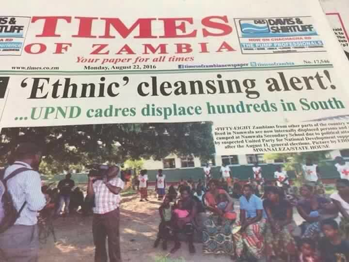 ZNBC, Times must be reported to International Criminal Court