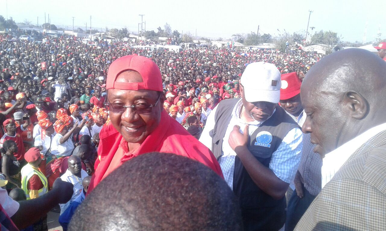 UPND Matero rally in pictures