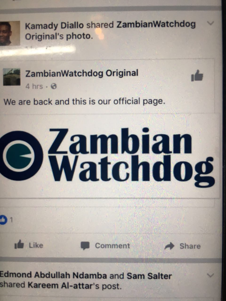 ZWD facebook page down, beware of imitations