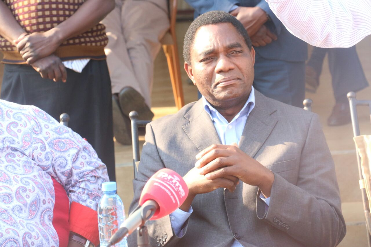 What Hichilema said on Saturday press briefing