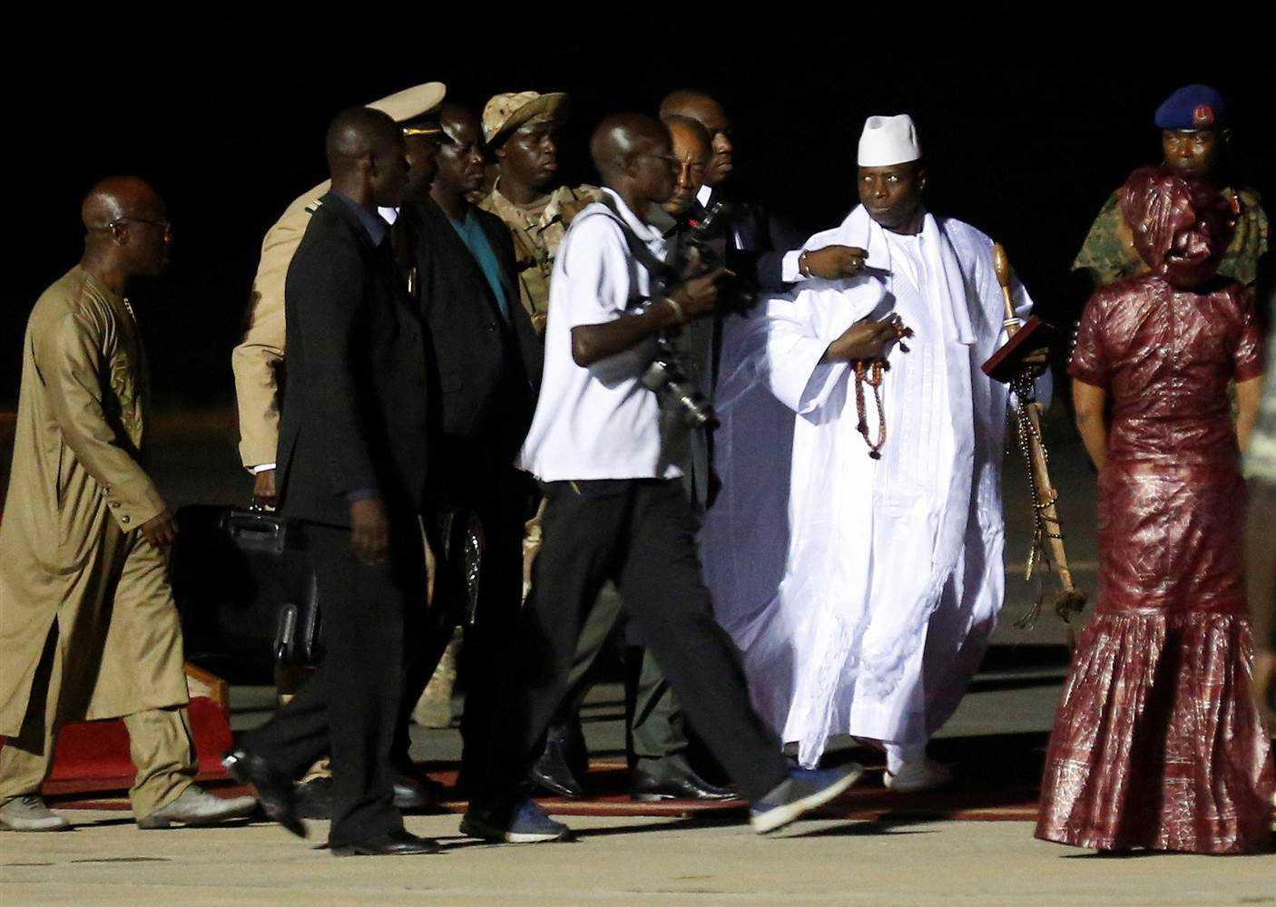 HH happy ECOWAS removed Gambian dictator