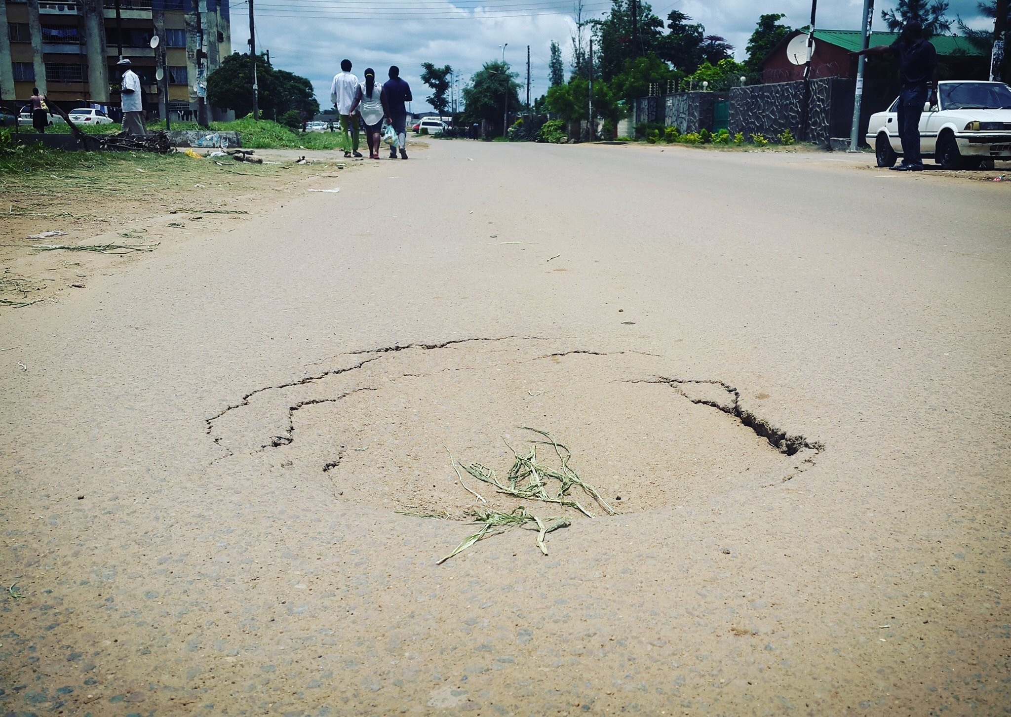 State of the nation: new roads in Kabwata