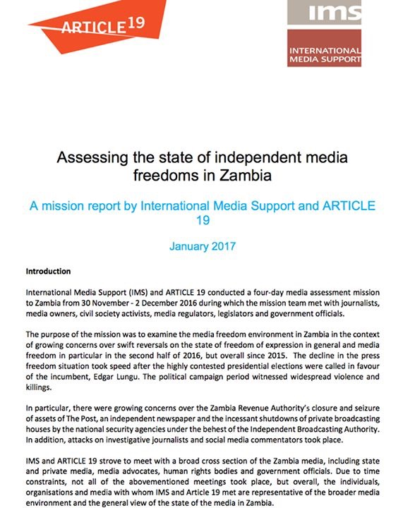 PF has completely destroyed media – 2017 report