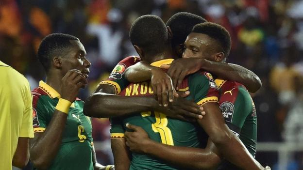 Cameroon celebrate 5th AFCON trophy