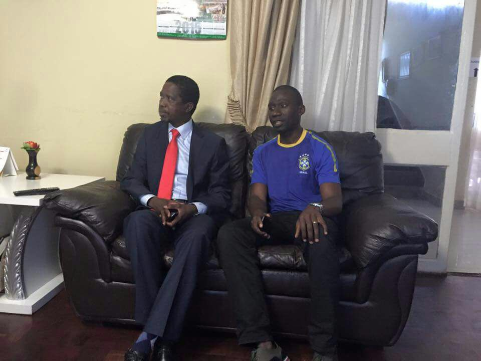 Photo of the day: PF prints UPND replica shirts to disrupt presidential petition