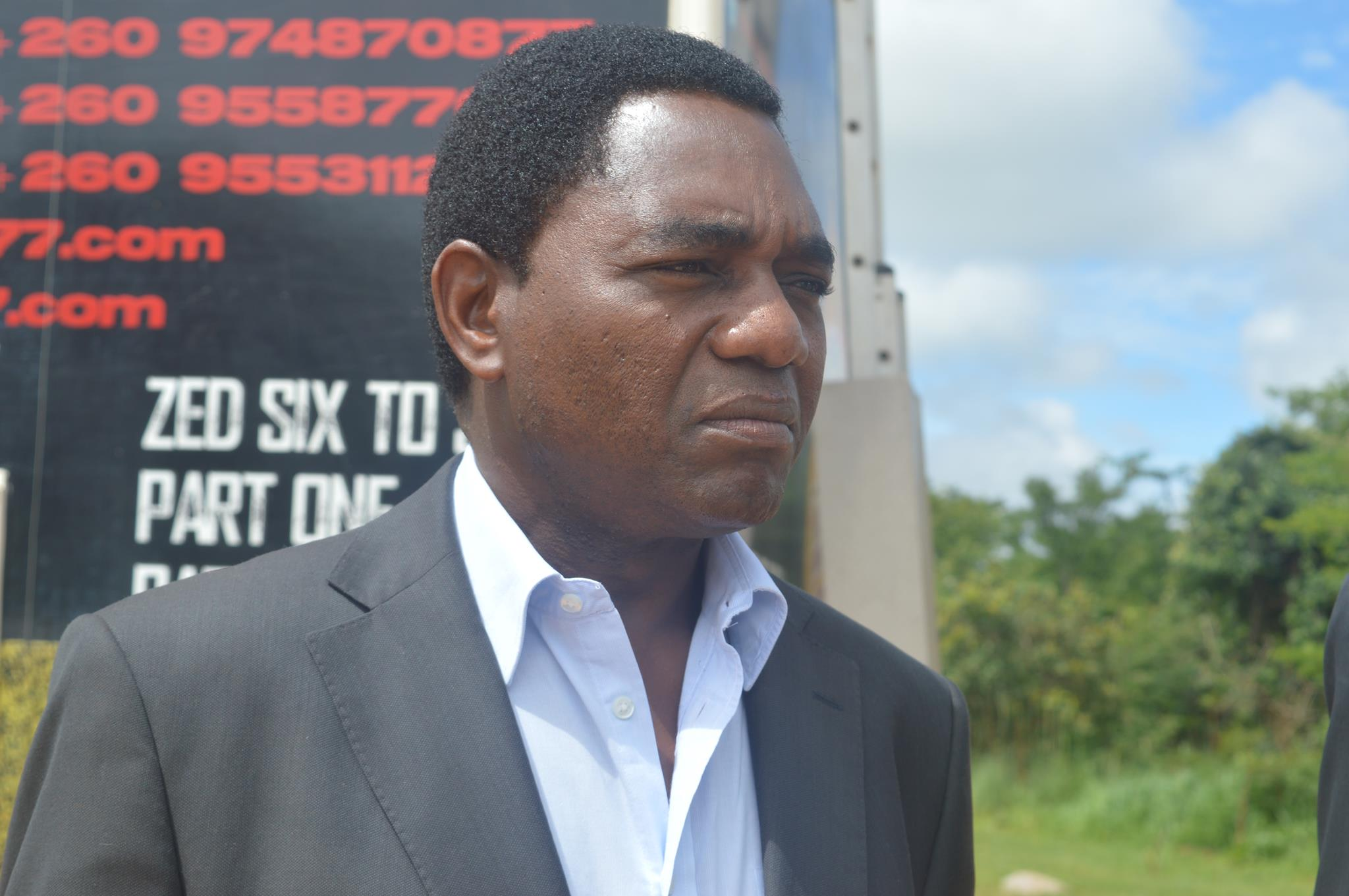 USA denounces brutal arrest of Hichilema