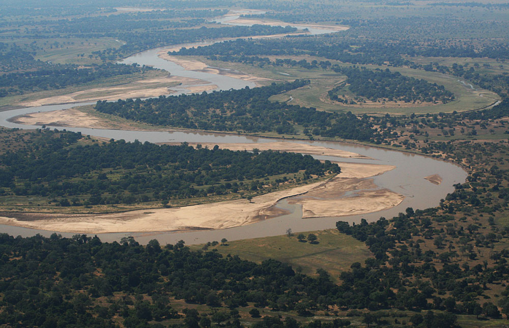 Dam on Luangwa river to swallow Luangwa national park, part of Mozambiaque
