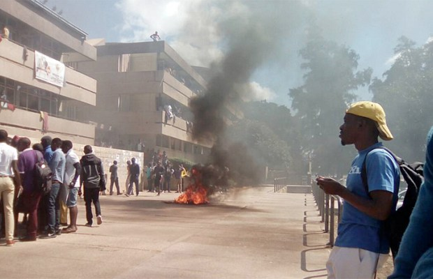 UNZA students riot