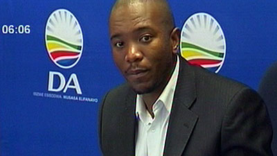 SA's Maimane to attend Zambian opposition leader's treason trial