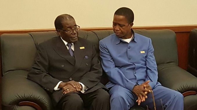 Zambia and Zimbabwe become one again, for wrong reasons