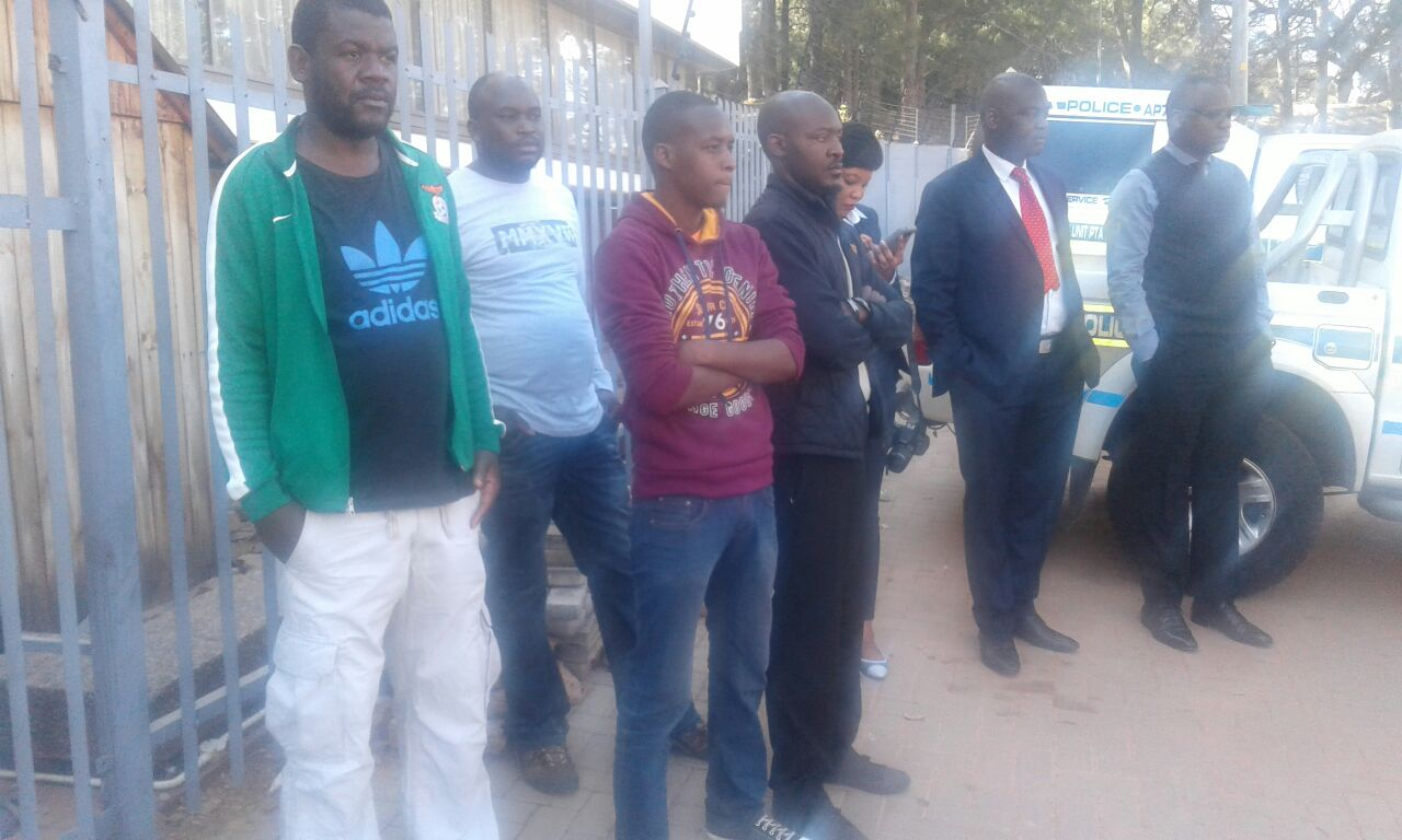 Photo of the day: PF cadres in SA frustrated