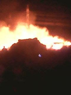 There was huge explosion before fire in Misisi