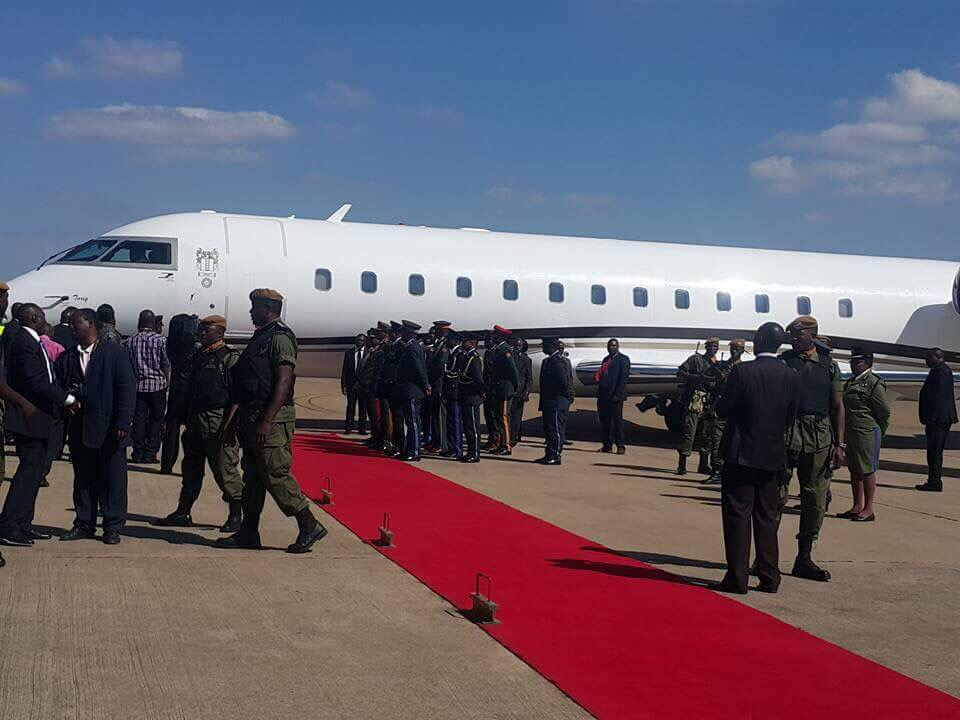 Lungu acquires new plane?
