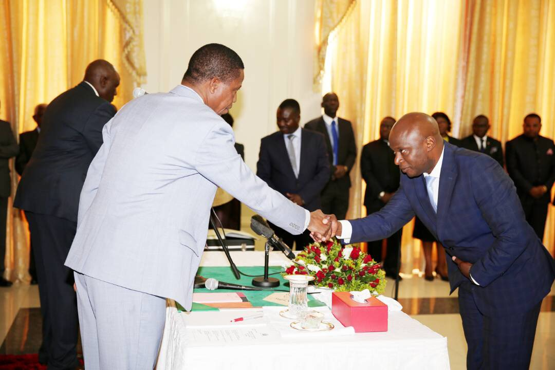 Lungu swears in pimp and drug courier as his special assistant