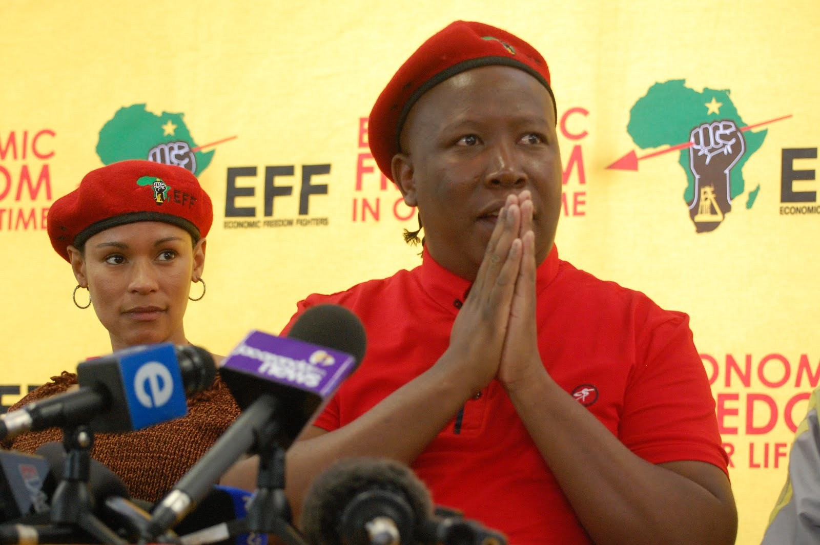 Malema continues condemning Lungu