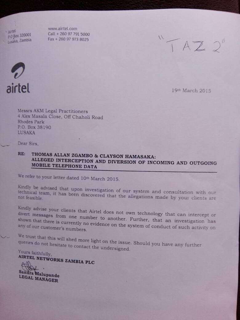 List of ministers, lawyers whose numbers Airtel diverted revealed