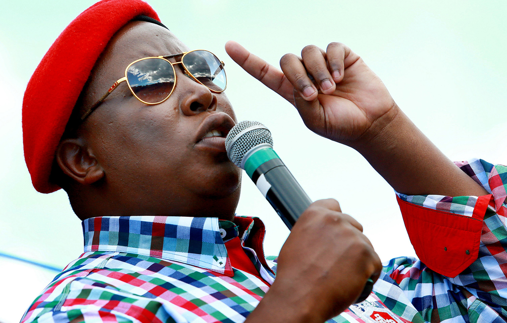 Julius Malema's party condems Lungu's dictatorship, calls for release of HH