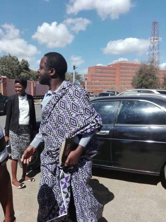 Saxiour Chishimba released, all charges dropped