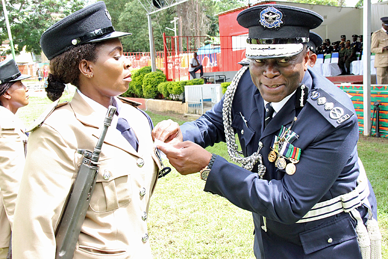 Police boss Kanganja stealing from officers