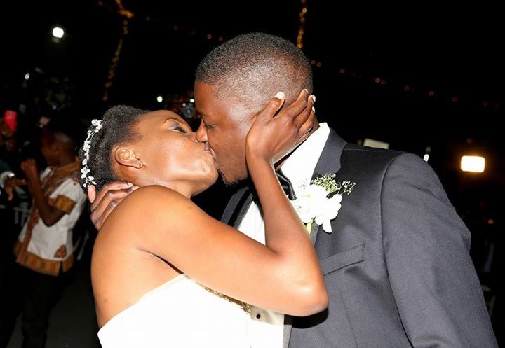 Photo of the day: kissing at Christian wedding