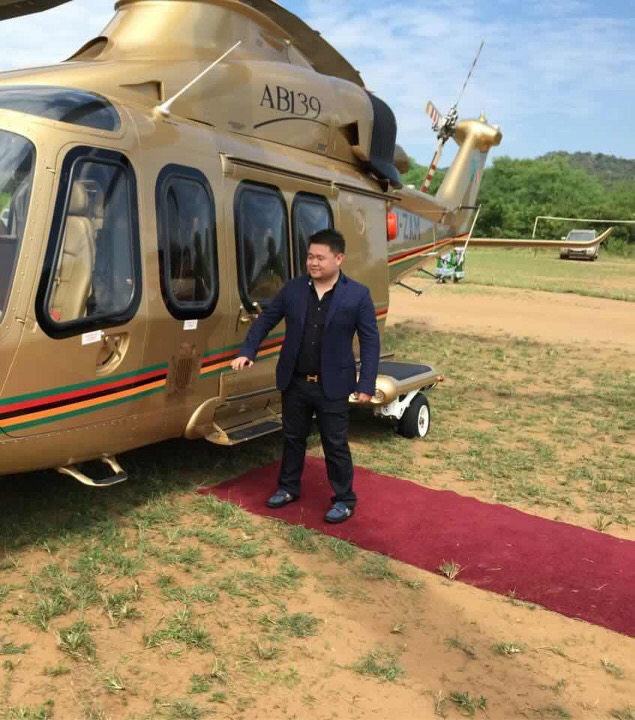 Photos of the day: Lungu's Chinese hit man