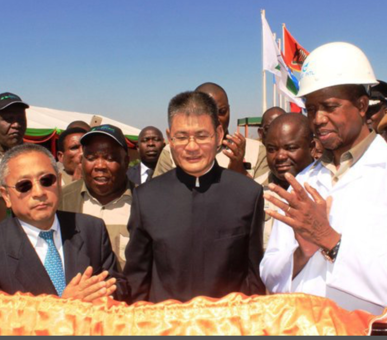 Avic International bribes Zambian president again for project
