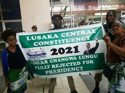 Photo of the day: Lusaka PF reject Lungu