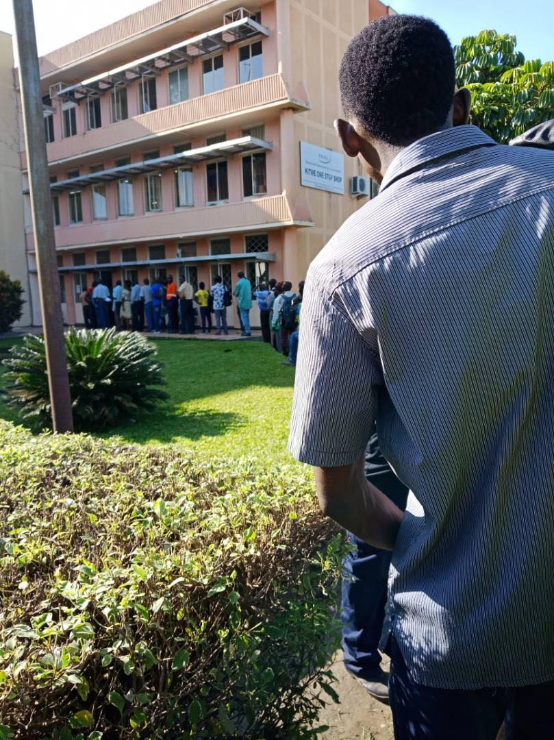 Photo of the day: Zambians lining up to pay weird taxes