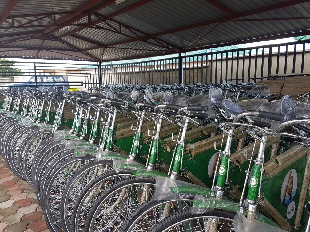 Avic international gives PF bikes to bribe Chilanga voters