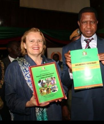 UPND accuses UN coordinator of holding indecent meetings with Lungu