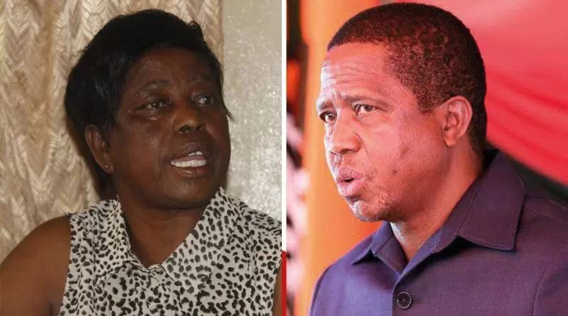 There was no hospital when Lungu was born – 'sister'