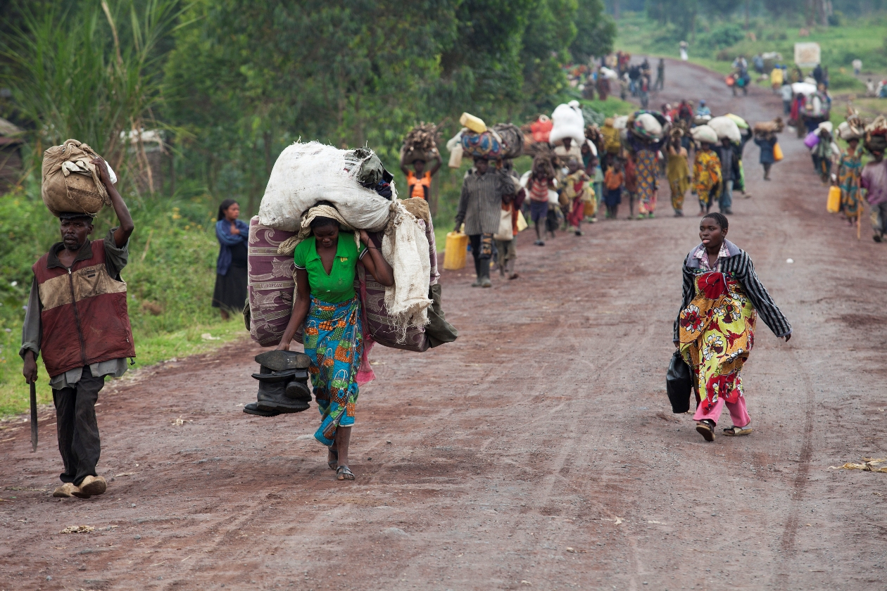 Congo DR refugees flood Zambia