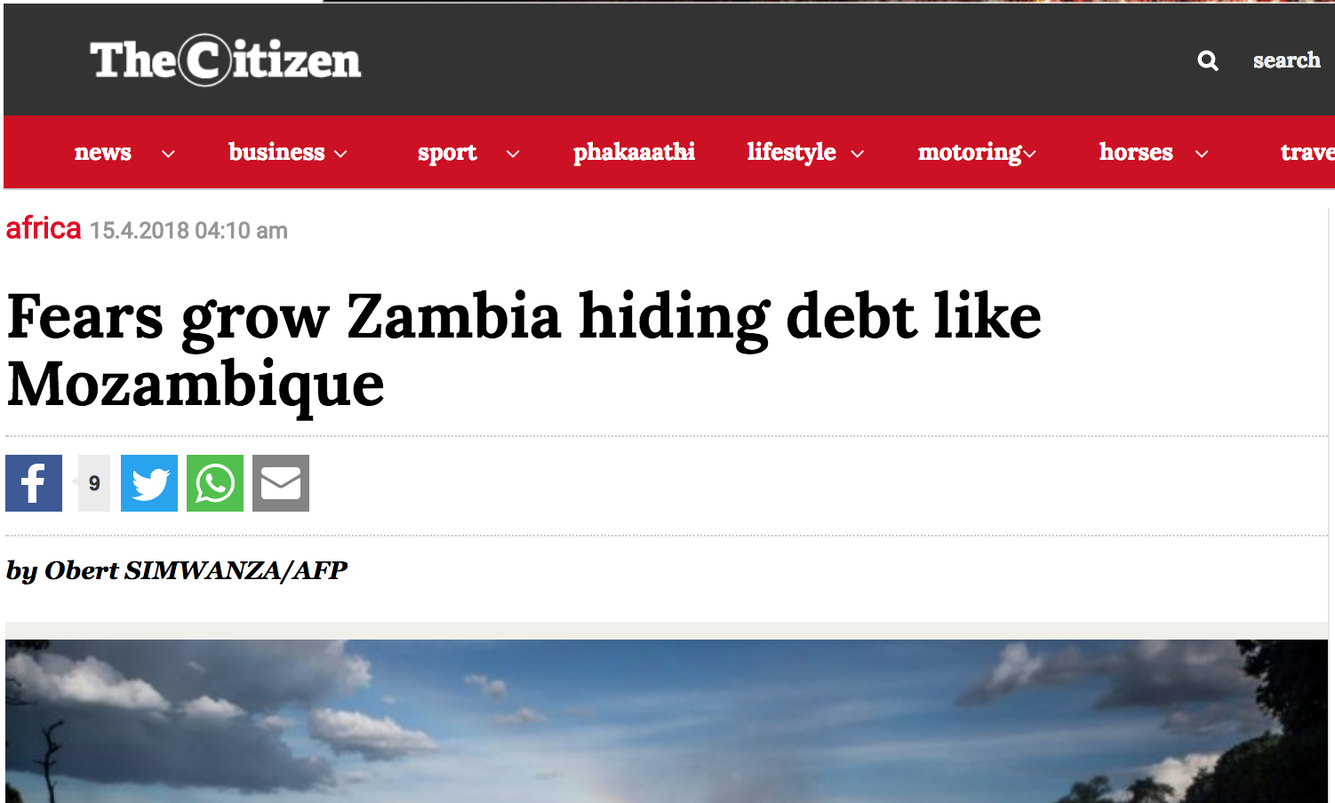Lenders, International markets insist Zambia has hidden debt
