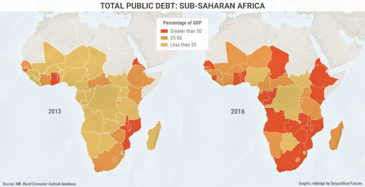 Zambia among 17 countries with unsustainable debts