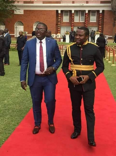 Lungu appoints his praise singer Malembe as bodyguard
