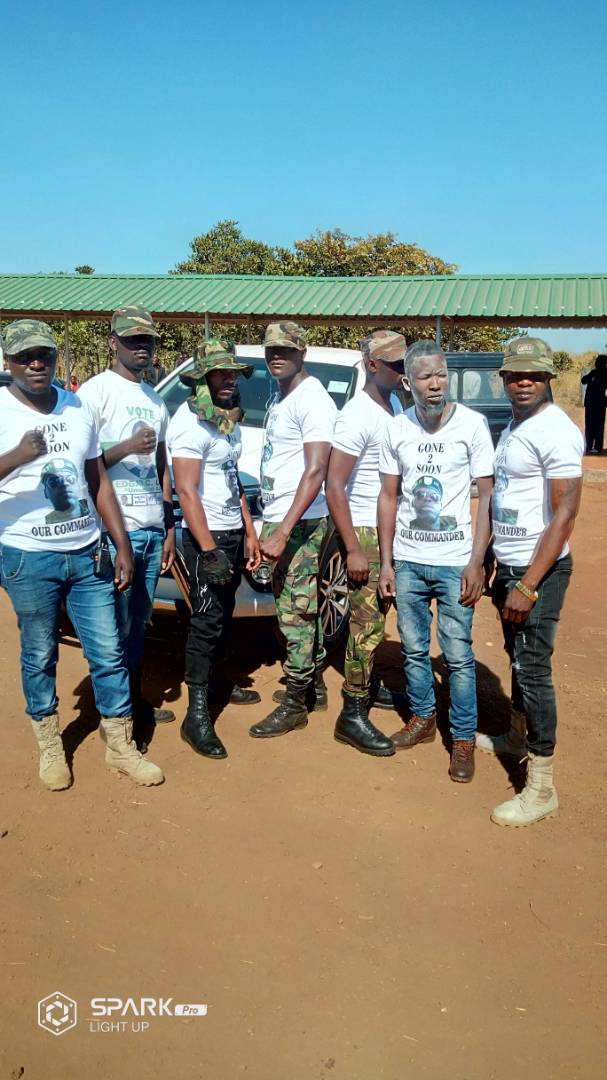 Photos of the day: PF thugs in military uniform