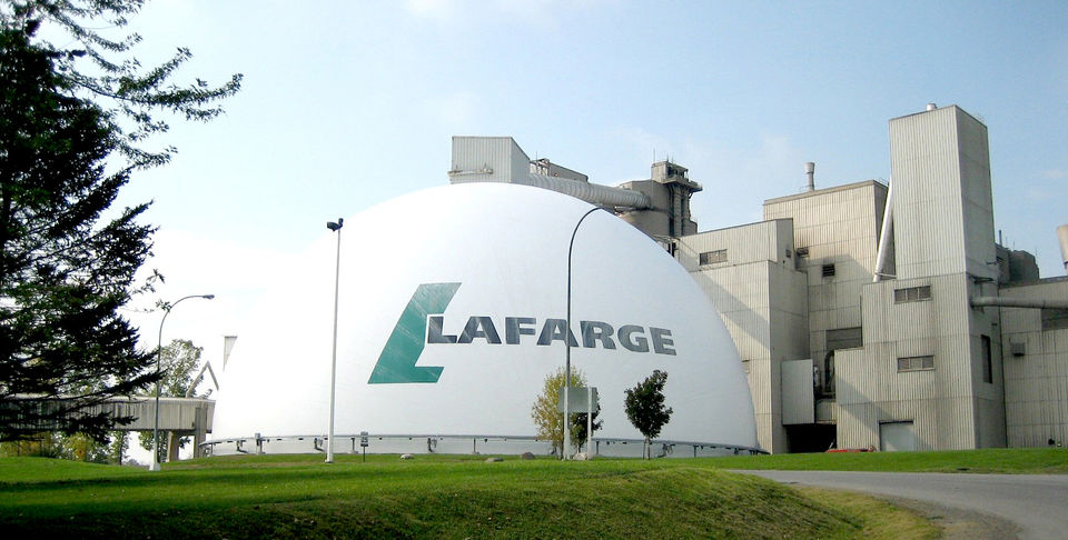 Larfarge in trouble for funding Syrian terrorists