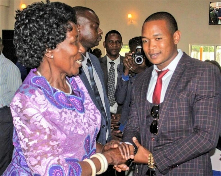 Inonge Wina and copper thieves