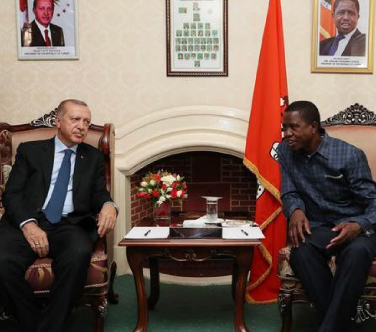 Lungu asks Turkey to repay Zambia's Eurobonds