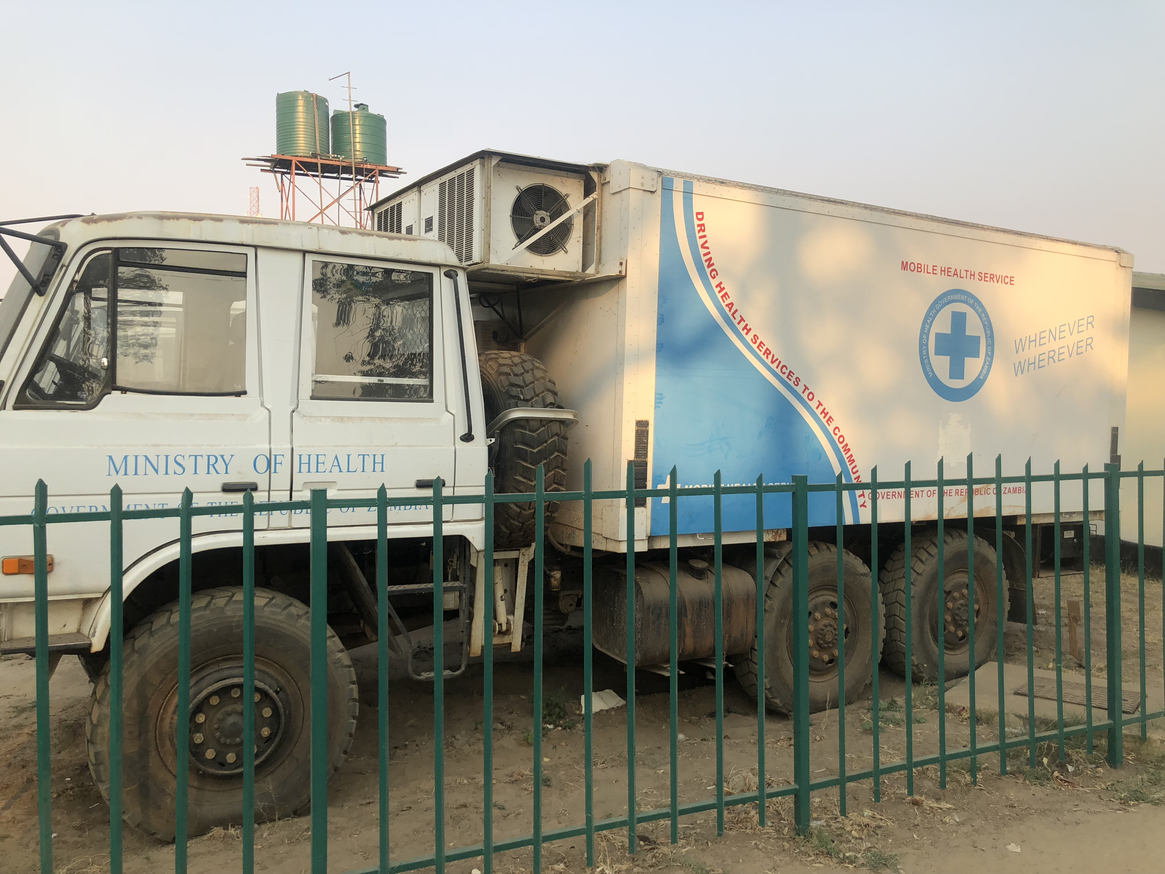 Rupiah's expensive mobile hospitals parked