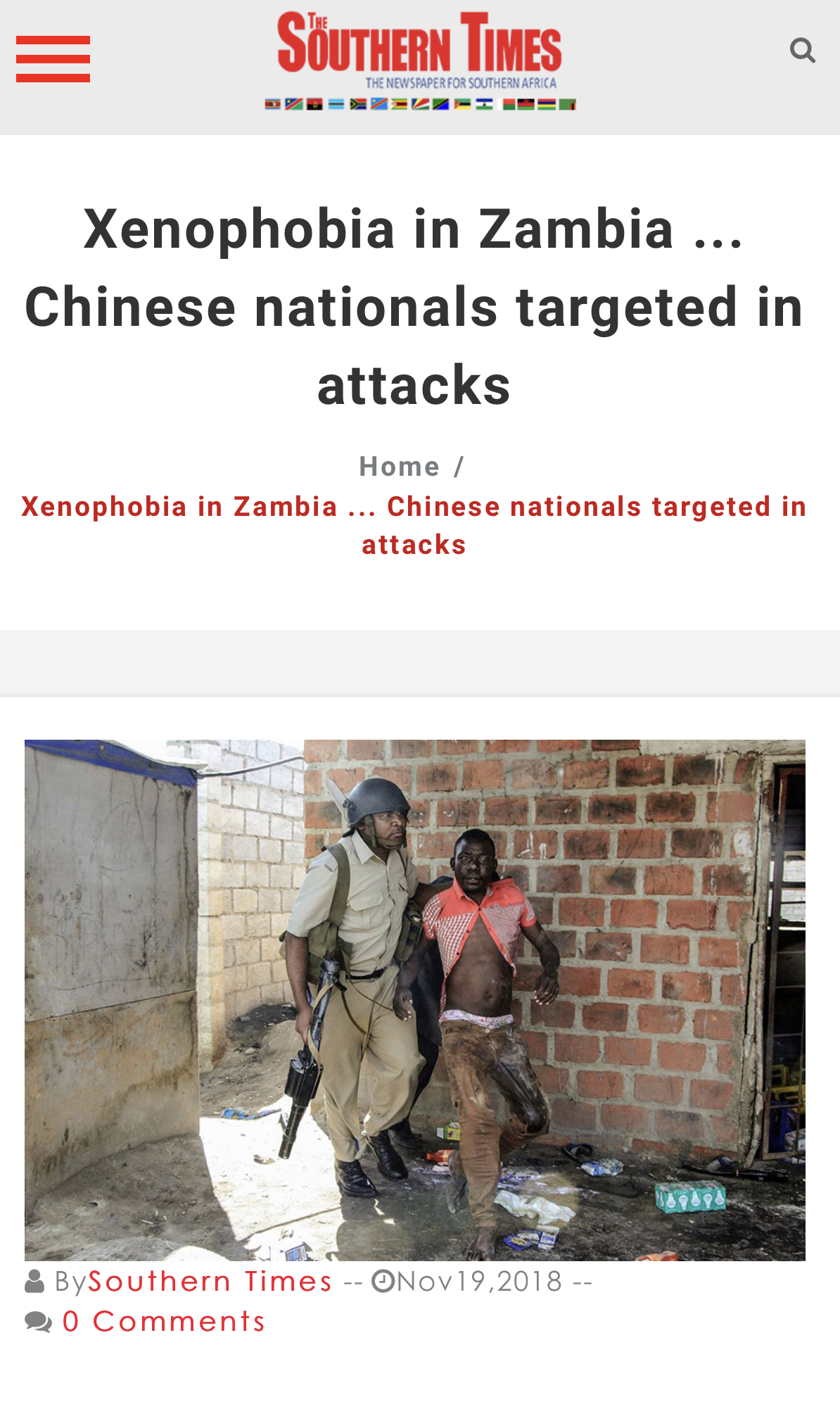 World reads about xenophobia in Zambia