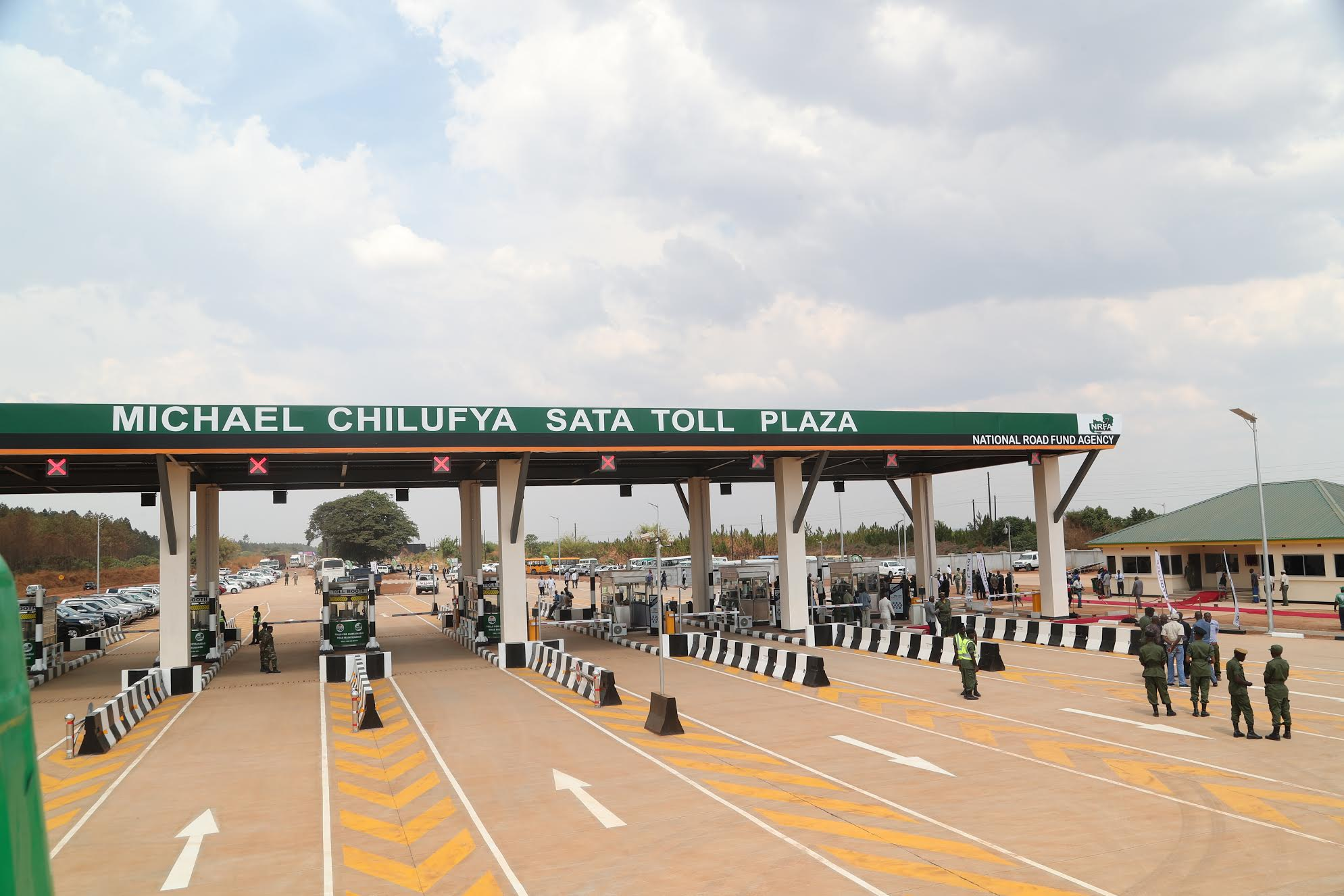 Government pays K53m for make shift tollgate